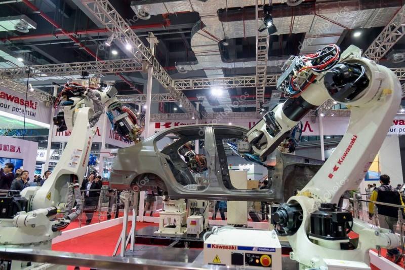 Роботы для точечной сварки