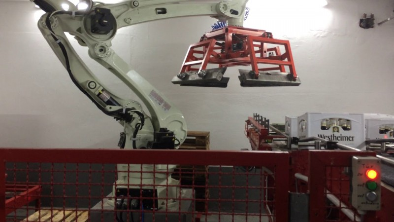 Роботы для палетирования
