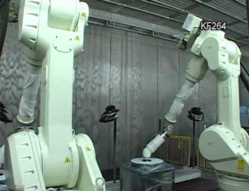 Покрасочные роботы